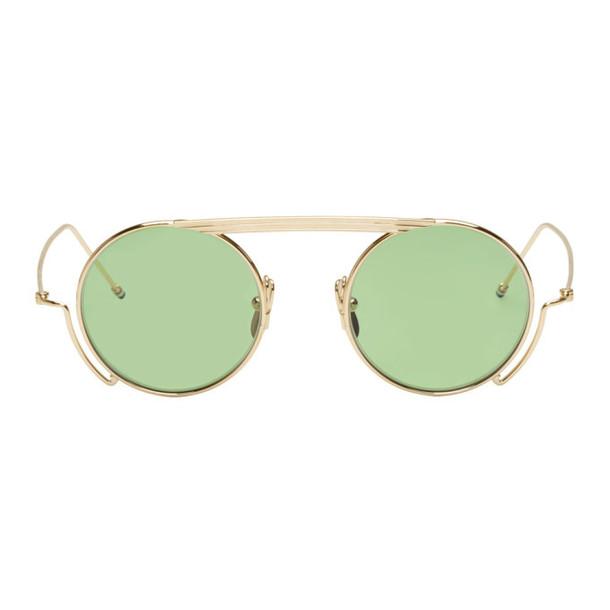 Thom Browne Gold TB-111 Sunglasses