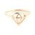 Wanderlust   Co - Frame-Diamond Rose Gold Ring