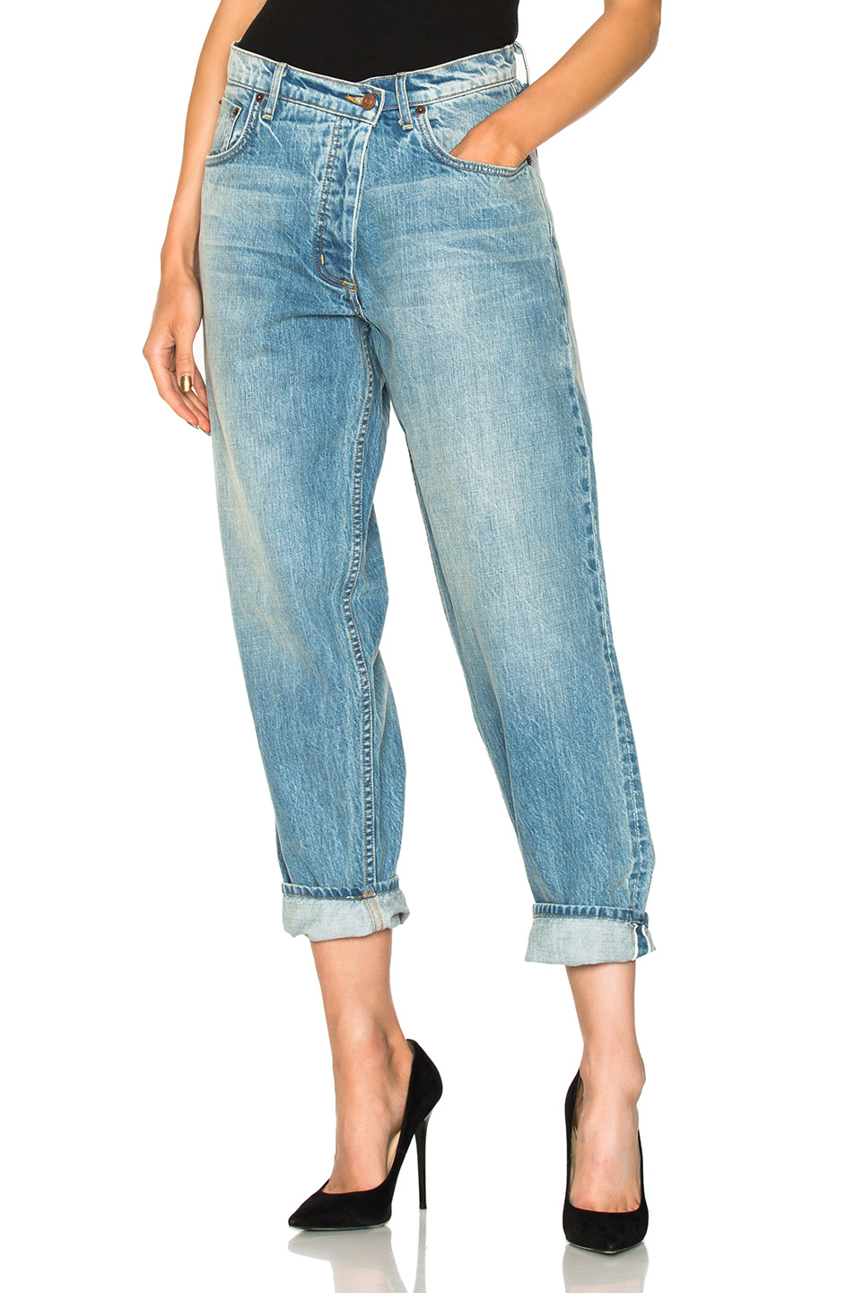 Get the jeans for $790 at fwrd.com - Wheretoget