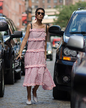 shoes,dress,maxi dress,summer dress,mules,white mues,white mules,sunglasses,bag