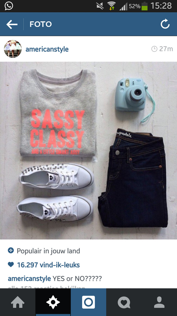 sweater sassy classy jeans grey sweater apricot