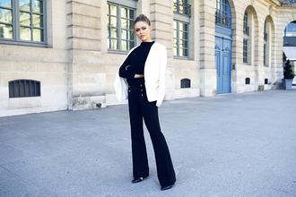 kayture blogger jacket pants top shoes