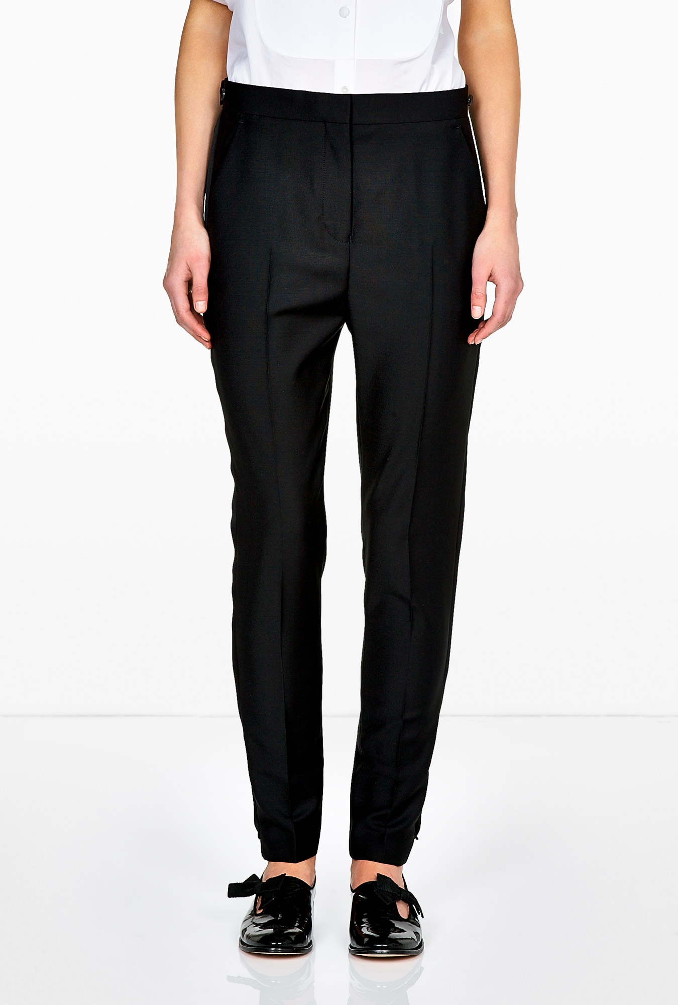 Acne | Constant Tux Tape Side Trousers by Acne