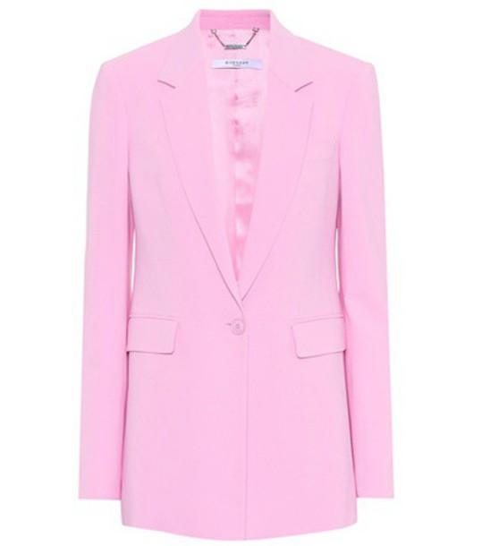 Givenchy blazer pink jacket