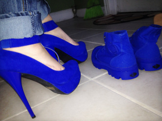 shoes blue high heels charlotte russe blue boots palladium