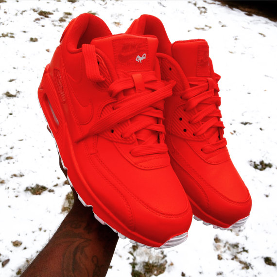 Nike Air Max  Mens Shoes Hyp Prm All Red