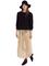 Chiffon full length skirt