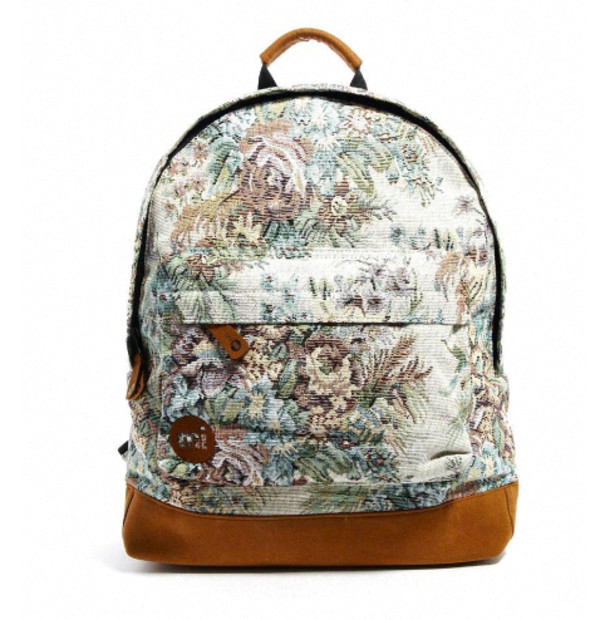 bag original floral flowers flowers floral bag cute girly fashion vintage