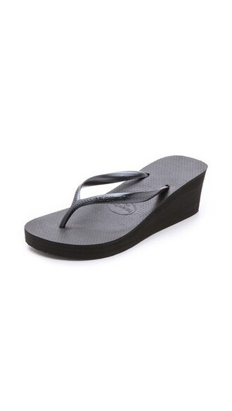 fashion high black shoes