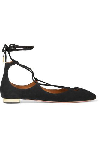 ballet flats ballet flats suede black shoes