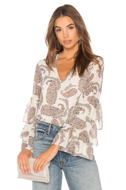 Bailey 44 blouse top cream