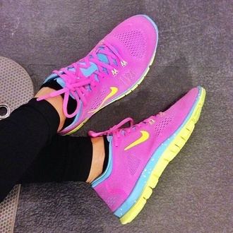 shoes nike running shoes pink shoes running shoes