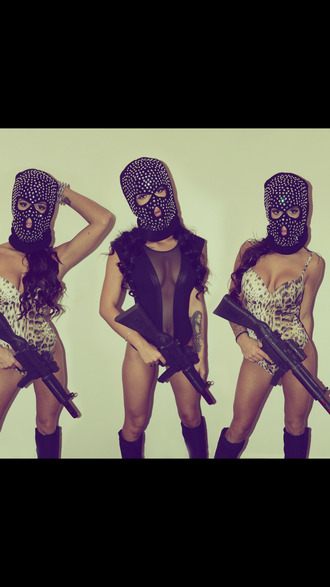 mask hat babes baddies girl dope tumblr