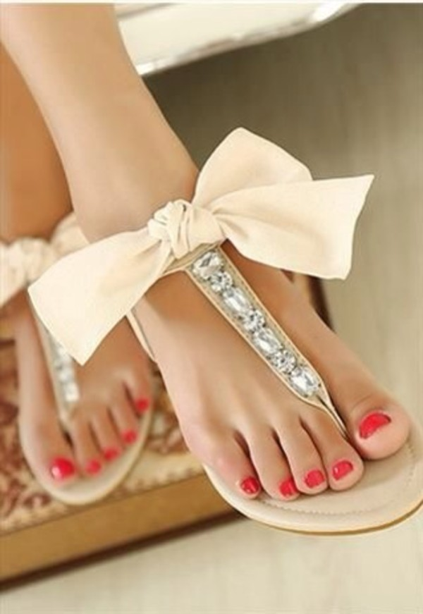 shoes bows bow sandals sandel cute shoes cute sandals tan sandals tan shoes bowtie beige diamonds wedding shoes