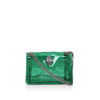Kurt Geiger London Mini Kensington - Transparent Green Mini Shoulder Bag