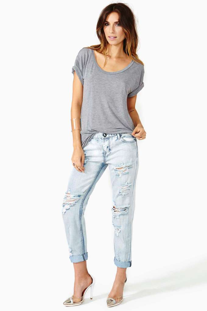 One Teaspoon Awesome Shredded Jeans | Shop Denim at Nasty Gal