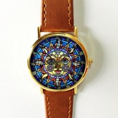 jewels,https://www.etsy.com/listing/241646216/sun-on-colored-glass-watch-vintage-style?ref=shop_home_active