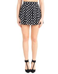 polka dotted skirt | 2020AVE