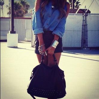 blouse bag spike