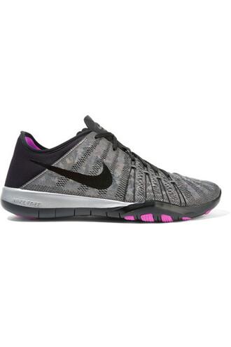 metallic mesh sneakers neoprene shoes