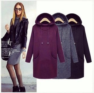 dress hoodie hoodie dress cute sweater cute originals burgundy dress burgundy grey sweater grey dress grey black black hoodie winter sweater winter coat winter dress winter outfits winter jacket cold fashion trendy hot pocket t-shirt dope new girl newlook new