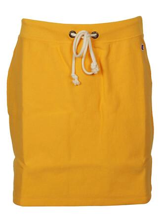 skirt classic yellow orange