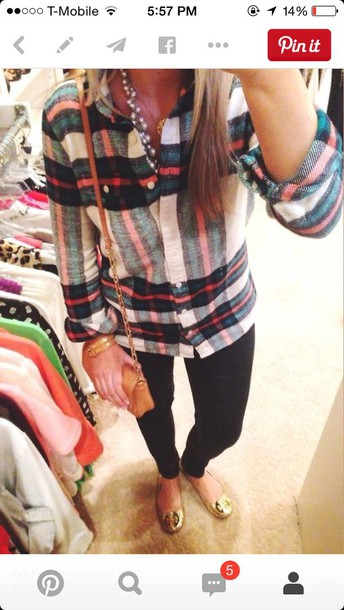 blouse cute shirt flannel shirt plaid shirt