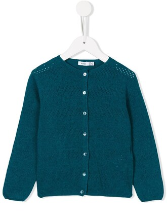cardigan girl toddler blue sweater