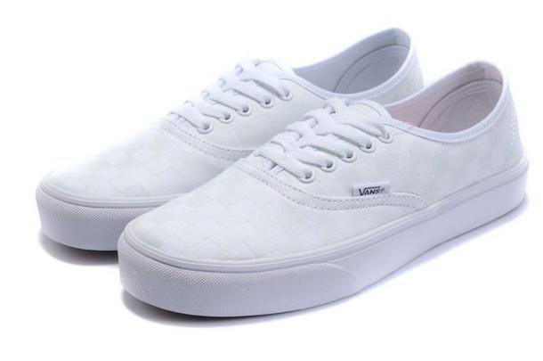 Shoes: white, vans, damndaniel - Wheretoget