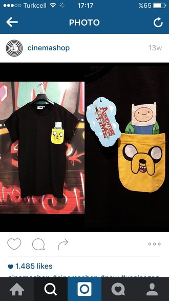 shirt adventure time jake the dog finn the human adventure time shirt