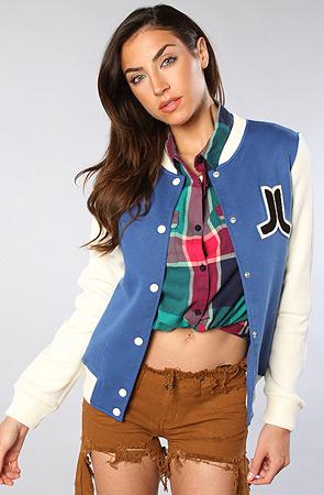 The virginia jacket in blue : wesc : karmaloop.com