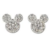 jewels,earrings,mickey mouse,silver