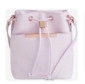 bag,bucket bag,lilac,light purple