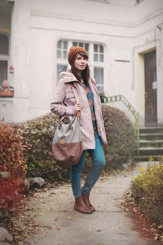blogger bag kapuczina duffle coat