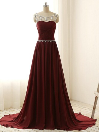 dress prom burgundy elegant bridesmaid fashion style classy evening dress homecoming dress formal gown dressofgirl