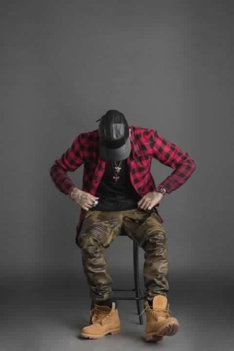 pants unlimited clothes menswear urban camo pants shirt