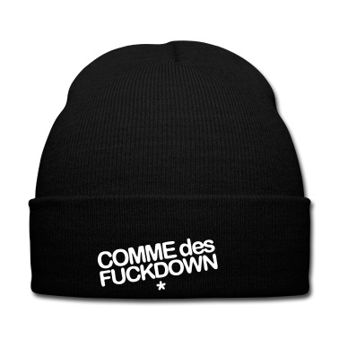 Comme Des Fuckdown Cap | Spreadshirt | ID: 11838845