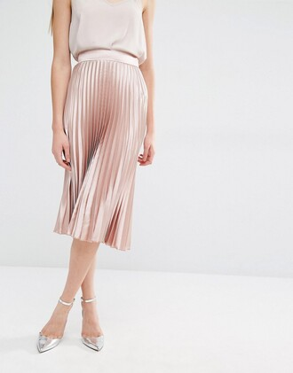 skirt pleated skirt asos clothes
