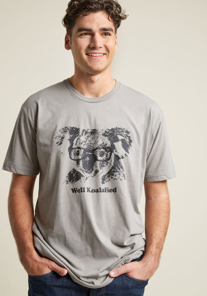 Modcloth graphic tee bear top