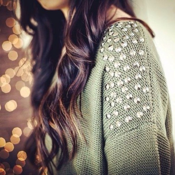 sweater rhinestones
