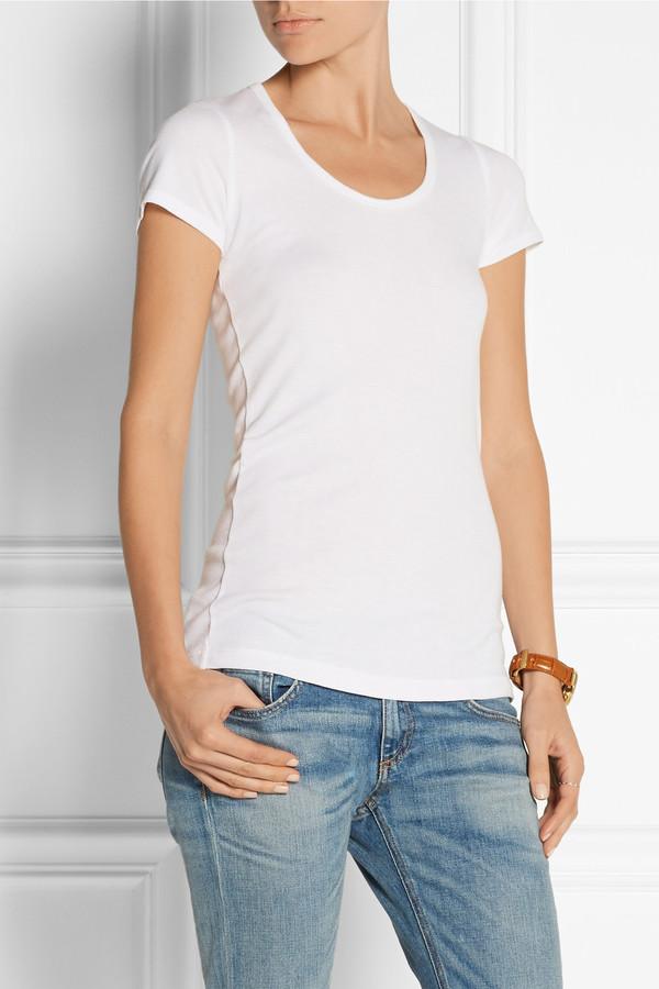 top t-shirt white t-shirt