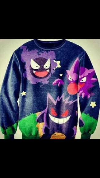 pokemon sweater t-shirt cool