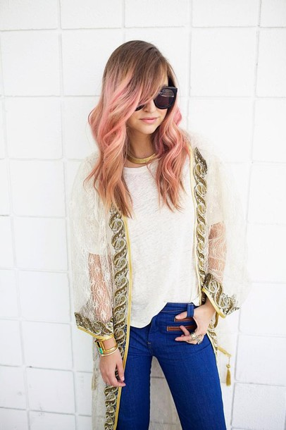 late afternoon t-shirt jeans jewels shirt scarf shoes jacket