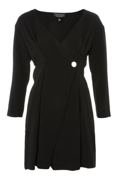 Topshop dress mini dress mini black