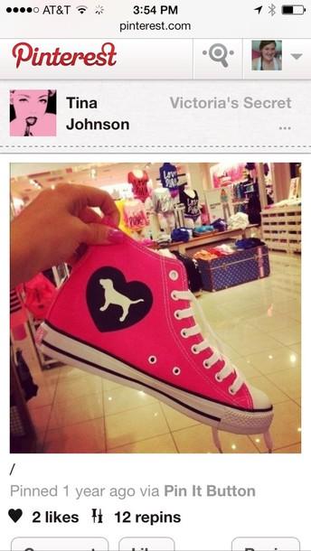 Shoes Victoria S Secret Pink By Victorias Secret Pink Converse