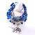 [grxjy51201254]Fashion Elephant Pendant Crystal Agate Bracelet