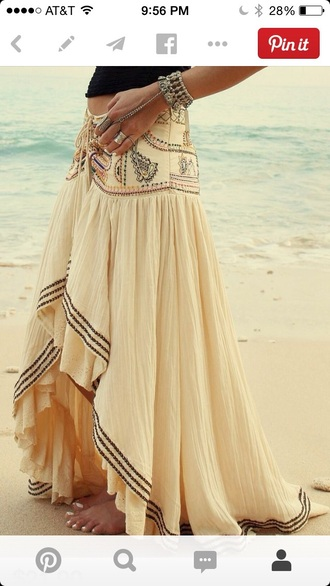 skirt detailed beach summer long skirt beautiful style gorgeous please help. any price girly amazing high-low skirt exotic skirt caribbean beachy i want this so much black