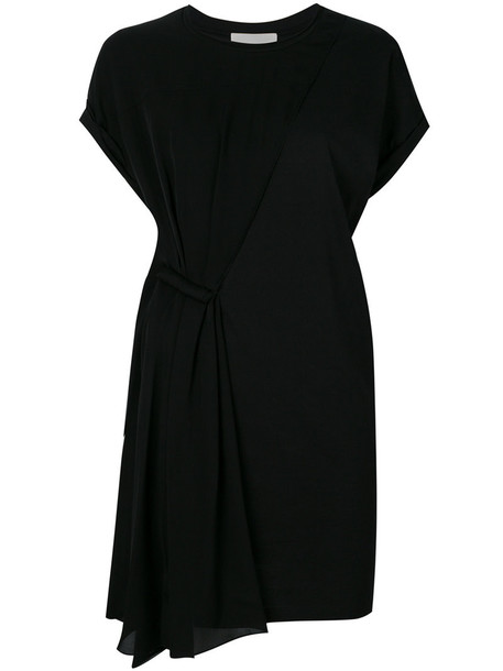 3.1 Phillip Lim dress shift dress women cotton black silk