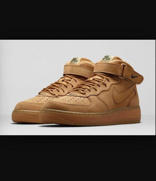 shoes mid flax nike shoes nike air force 1