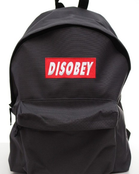 bag backpack swag hipster teeisland hipsta geek disobey obey uk usa europe